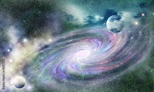 spiral galaxy in universe