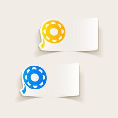 realistic design element: film