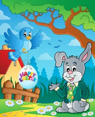 Easter rabbit theme image 3
