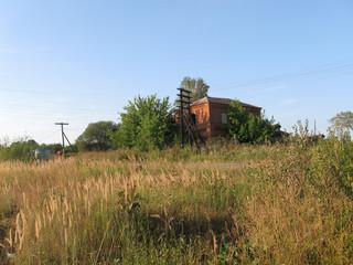 Dorf in Russland