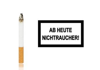 Ab heute Nichtraucher