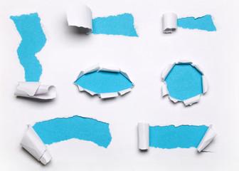 Papier Risse