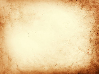 Old dirty parchment paper background texture