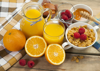 juice and flakes