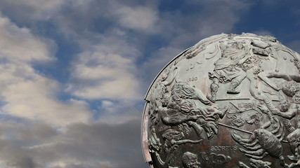 Celestial globes--Moscow, Russia