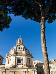 Church Mary Loreto, Rome, Italy