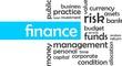word cloud - finance