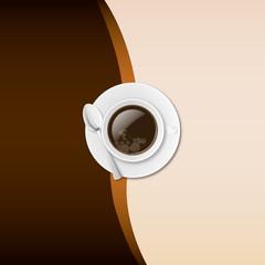 Fond tasse a cafe dessus 01