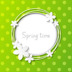 Floral frame for Your design