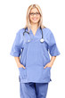 Vertical shot of a female healthcare professional
