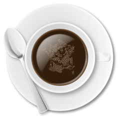 Tasse a cafe dessus 03