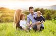 Happy family - 76895530