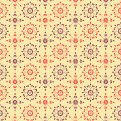 Abstract Floral background  vintage style