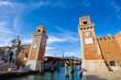 Porta dell' Arsenale. Venice. Italy.