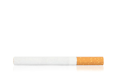 Zigarette horizontal mit Textfreiraum