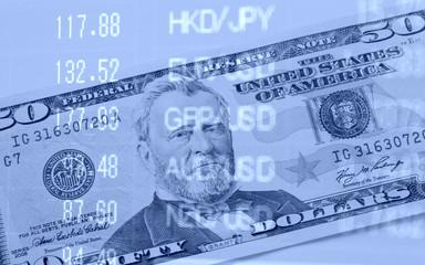 金融イメージ 通貨のレート