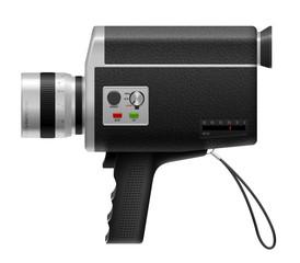 Caméra 8mm vectorielle 1