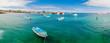 marina in san cristobal galapagos islands ecuador