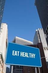 Eat healthy against new york