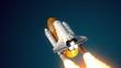 Solid Rocket Buster Detached
