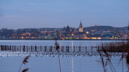 Friedrichshafen im Abendlicht