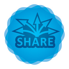 Share icon, Communication concept