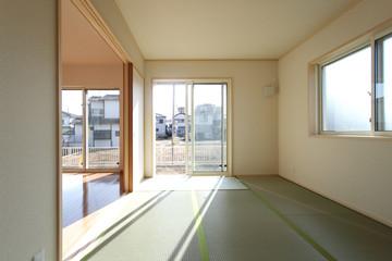 洋風和室 6帖 戸建て住宅続き間 施工例