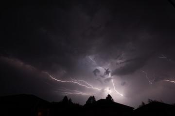Thunderstorm and Lightning