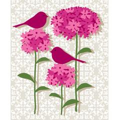 pink botanical.