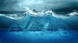 Leinwandbild Motiv Apocalypse flood