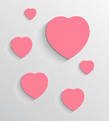 valentine's day vector background