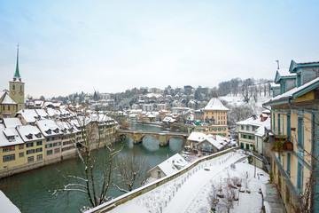 Winter in Bern Schweiz
