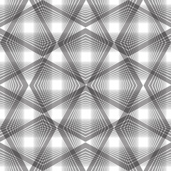 Abstract vintage seamless background, vector illustration, monoc