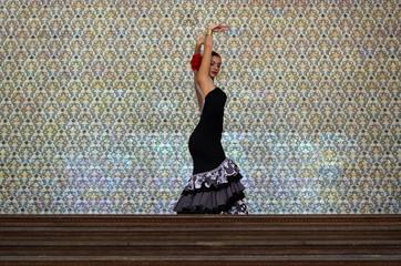 Chica flamenca