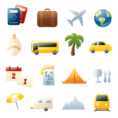 Holiday Travel Icons