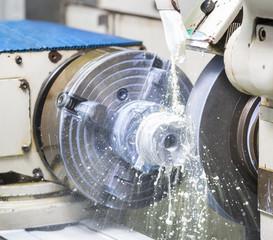 operator grinding forging die parts