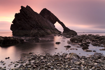 Bow Fiddle Rock at Portknockie