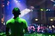 Leinwanddruck Bild - DJ