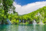 Fototapety Small waterfall, Plitvice Lakes NP,  Croatia