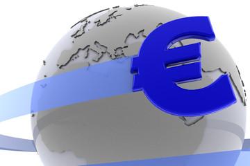 The Euro around the globe