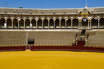 Spanish bullfight arena Sevilla