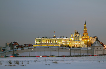 Complex of Governor palace of Kazan Kremlin