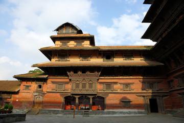Nine storey Basantapur Tower in Nasal Chowk Courtyard