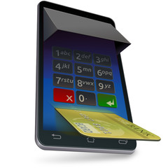 Payment on a mobile terminal