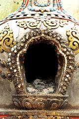 candle place in Swayambhunath Stupa