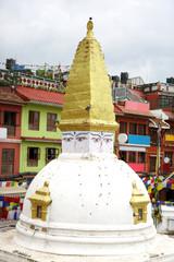 A small stupa near ancient Swayambhunath Stupa, Nepal