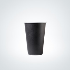 Black Paper Cup close-up