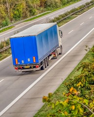 Truck on the motorway