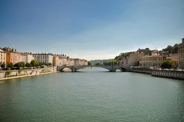 Lyon city view