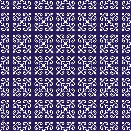 In de dag Kunstmatig Caucasus seamless pattern
